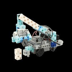 アームロボットなどを作りながら、サーボモーターの基本操作を習得します。