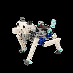 リンクやギヤの機構を使った駆動で動くロボットを作ります。